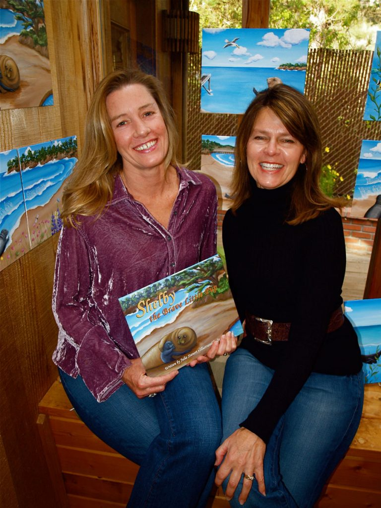 Author Julia Stanert (left) with Illustrator Jayne Koontz (right)